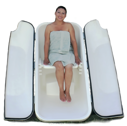 ozone-steam-sauna-caninet-with-a-person-in-it